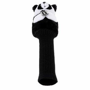 lahomia Protecteur de Couvre-Chef Animal Golf Club pour 460 CC/No.1 Wood Driver – Panda, comme Décrit