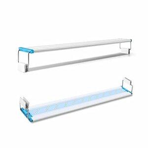 Morninganswer Super Slim LEDs Aquarium Lighting Lumière des Plantes Aquatiques Extensible Étanche Clip on Lampe pour Fish Tank 90-260V