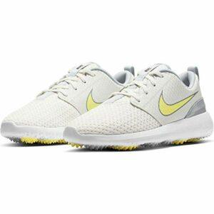 Nike Roshe G, Chaussure de Golf Femme, Summit White Lt Citron White, 39 EU