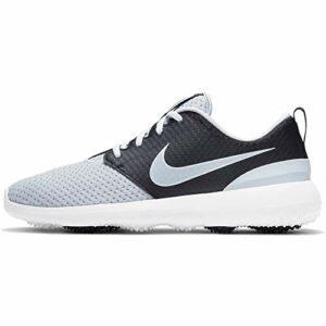 Nike Roshe G, Chaussures de Golf Mixte, Pure Platinum/Pure Platinum-Black-White, 42.5 EU
