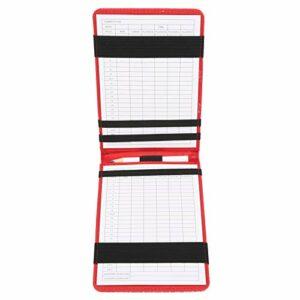 OKAT Carte de pointage de de Couverture de Livre de Yardage, Livre de Notation d'accessoires de, pour des Sports de Golfeur en Plein air