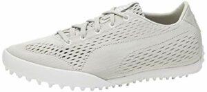 PUMA Monolite Cat Em, Chaussures de Golf Femme, Gris (Gray Violet White 01), 37 EU