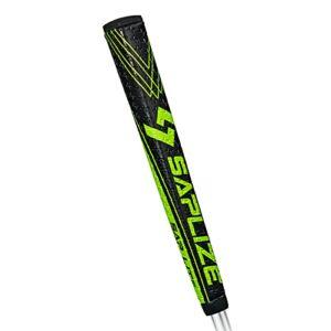 SAPLIZE Grip pour Putter, Forme Ergonomique PU Golf Grip, Légère, Antidérapante, Taille Moyenne Golf Putter Grip, Verte