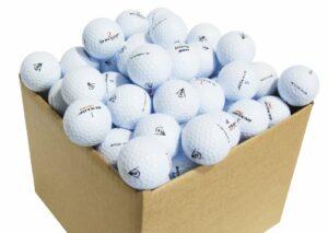 Second Chance Dunlop Pack de 100 balles de Golf