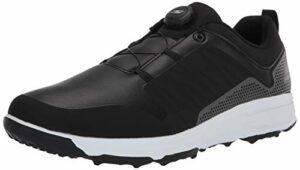 Skechers GO Golf Torque Twist Cuir Imperméable Chaussures de Golf à Pointes 54551 Black/White 9UK