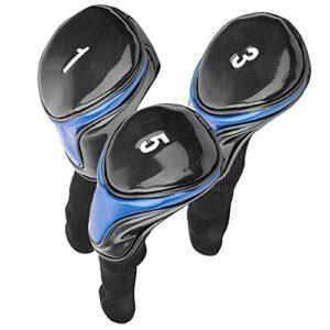 Soapow Couvre-club de golf portable en polyuréthane souple et durable