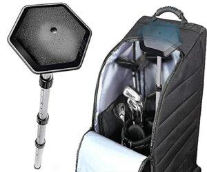 Tige de support réglable pour sac de golf de 63,5 à 132,1 cm – Tige en alliage rigide pour sac de golf (réglable de 63,5 à 132,1 cm)