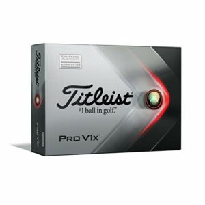 Titleist Pro V1x Balle de Golf AIM