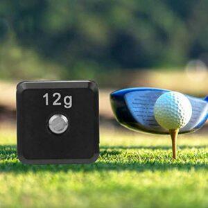 Tomantery 1 vis de Poids de Golf pour Terrain de Golf pour M5 Driver Club Head Accessoires de Golf pour Joueurs de Golf(12G)